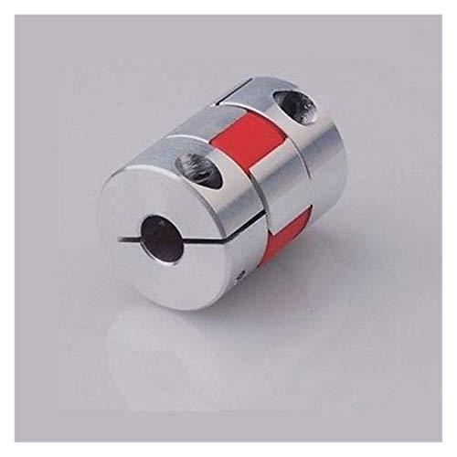 Basic Cellphone Cases CNC Parts Coupler O/D 30mm Length 35mm Aluminium Plum Shaped Flexible Shaft Coupling for Encoder CNC Stepper Motor (Inner Diameter : 6x10mm)