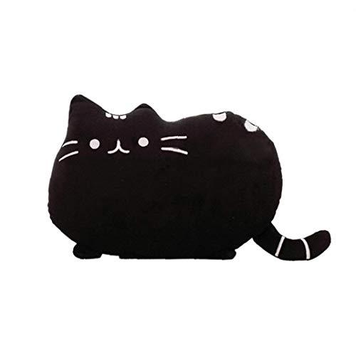 asdfwe Forma Gato Gatito Almohada Almohada Animal Relleno De Almohadas para Hogar Balcón Sofá Decoración