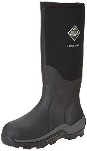 Muck Boots Arctic Sport, Unisex-Erwachsene Outdoor Fitnessschuhe, Schwarz, 43 EU
