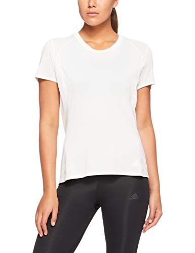 adidas Damen Kurzarm T-Shirt Free Supernova, Cloud White, S, CZ5554