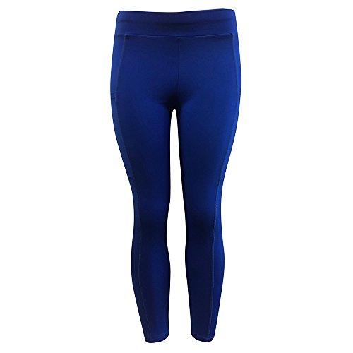 Ncenglings Sporthose Damen High Waist Blinkdicht Sport Leggings Elastische Tummy Control Yogahose Lange Laufhose mit Taschen Damen Haremshose mit gesmoktem Bund Pfauendruck