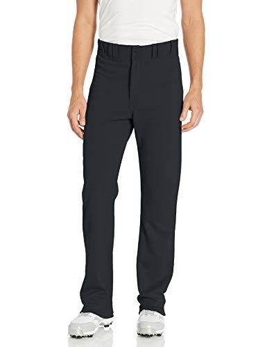 EASTON RIVAL 2 Baseball Softball Pant | Adult | Solid Color | 2020 | Double Reinforced Knee | Elastic Waistband w/ 2 Color Internal Easton Logo | 2 Batting Glove Pockets | 100% Polyester