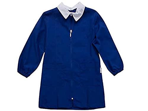 siggi Grembiule Scuola Maschio Colore Bluette con Lampo (13A-158CM)