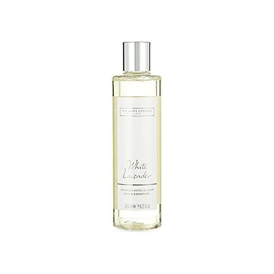 インキュバス引き付ける熟達したThe White Company White Lavender Bath & Shower Gel (Pack of 6) - 白同社白ラベンダーのバス&シャワージェル x6 [並行輸入品]