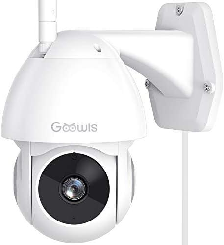 Security Camera Outdoor Goowls 1080P Pan Tilt 2 4G WiFi Home Smart Security Surveillance IP product image