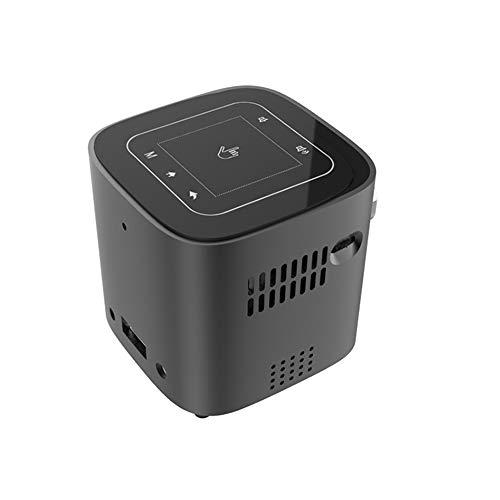Mini proyector portátil, 1080p HD Proyector portátil con Cable HDMI/AV/Pc / Ps4 / Hdmi/Vga/TF/AV/USB/Smartphone