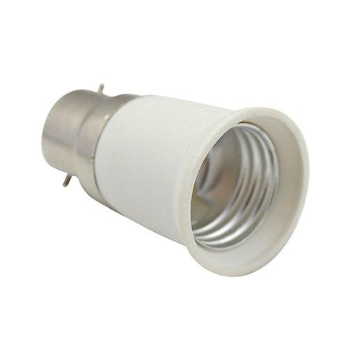 BestOfferBuy Adattatore e Convertitore per bulbo lampadina da E27 (Edison) a B22 (Baionetta)