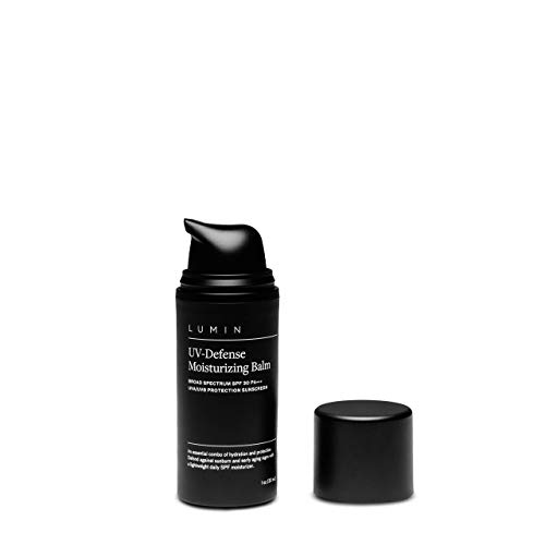 Men's UV-Defense Moisturizing Balm (1 oz.): Hydrate Skin, Fight Signs of Aging, Prevent Sun Damage - Korean Made Grooming for the Modern Man by Lumin