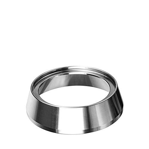 Bestine - Embudo dosificador de café de acero inoxidable compatible con Portafilter (54 mm)