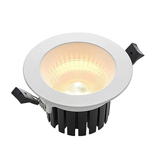 LED Foco empotrado 'Unai' en Blanco hecho de Aluminio e.o. para Pasillos (1 llama, A+) de Arcchio | foco empotrado, lámpara de techo, lámpara de pared