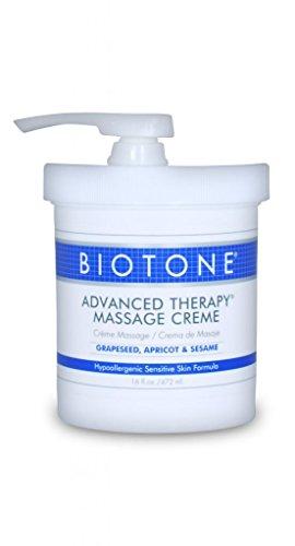 Biotone Advanced Therapy Massage Creme, 16 Ounce