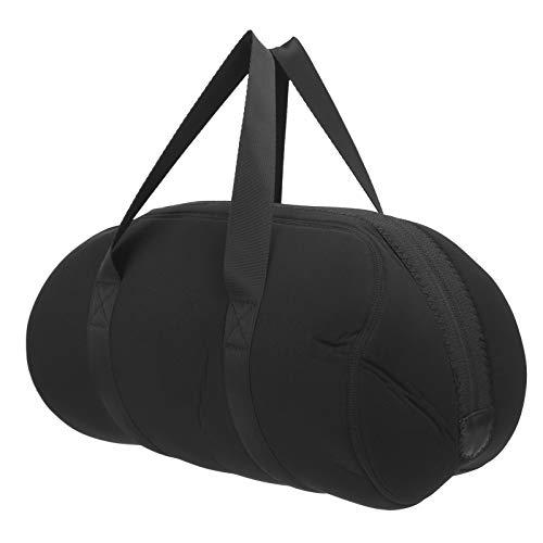Stoßfeste und sturzsichere, coole schwarze Aussehens-Lautsprechertasche, Lautsprecher-Schutzhülle für Lautsprecherschutzreisen