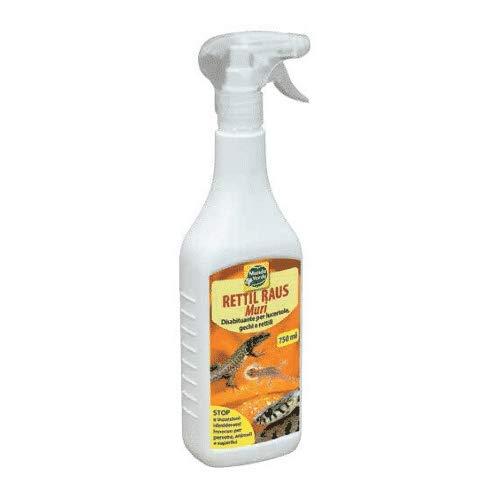 Repelente para reptiles en spray | No mancha paredes | Lagartijas | Lagartos | Salamanquesas |Dragones | Geckos