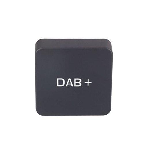 VORCOOL Récepteur radio DAB pour voiture - Radio stéréo - Lecteur USB - Radio numérique externe - Tuner radio numérique pour autoradio Android (noir)