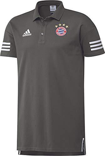Adidas FC Bayern München Champions League Poloshirt FCB UCL Polo Herren grau Größe S