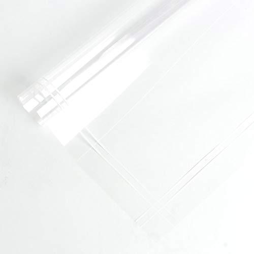 Bloemen inpakpapier, Transparent Dikke cellofaan Gestreepte Grens Waterproof verpakking materiaal Cadeaupapier (Color : E, Size : 60 * 60CM)