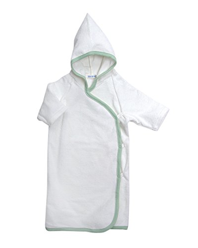 Under the Nile Girls Hooded Bath Kimono White 06 months
