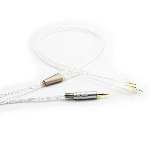 Ablet HiFi-Kabel mit 2,5 mm Trrs symmetrischem Stecker kompatibel mit Sennheiser HD650, HD600, HD580, HD660S, Massdrop HD6XX Kopfhörer & kompatibel Astell&Kern AK240 AK380 onkyo AK320 DP-X1 FIIO