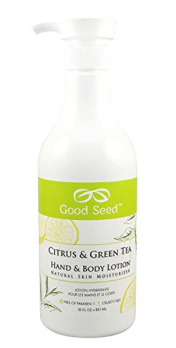 Good Seed Citrus & Green Tea Hand & Body Lotion 30oz (New Packaging)