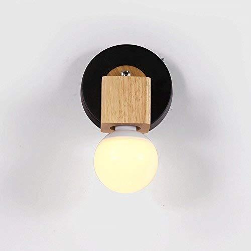 JZMB wandlamp klein, klein, warm, bedlampje voor kinderen, klein, nachtlampje, E27 stopcontact voor wandlamp spanning 110~240 V /