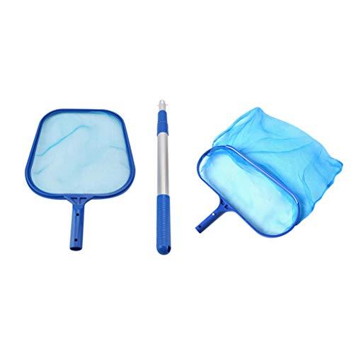 Btruely Clean Cast Kescher Set, Poolreinigung Bodenkescher mit Verstärktem Kunststoffrahmen, Pool Kescher Bodenkescher