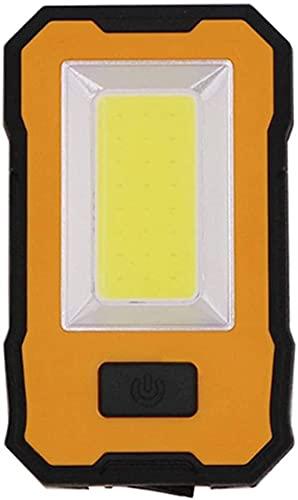 RDJSHOP Luces de cadena al aire libre LED Luz de trabajo portátil USB USB Lámparas de trabajo recargable Lámparas de trabajo Colgante de metal Luz de inspección de gancho para reparación de automóvile