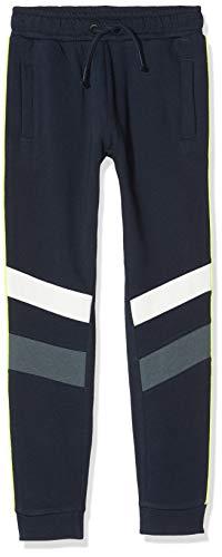 NAME IT Jungen NKMRAPPE Sweat Pant BRU Sporthose, Blau (Dark Sapphire Dark Sapphire), (Herstellergröße: 140)