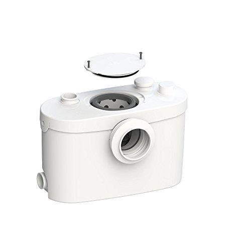 SFA SANIBROY 0015UP Fäkalienhebeanlage / WC-Förderanlage SANIPRO XR UP | Anlage zum Fördern von Schmutzwasser aus Toilette, Urinal,… | Förderdistanz: 100x5m, Wasser 40°, 400 Watt, 220-240 Volt