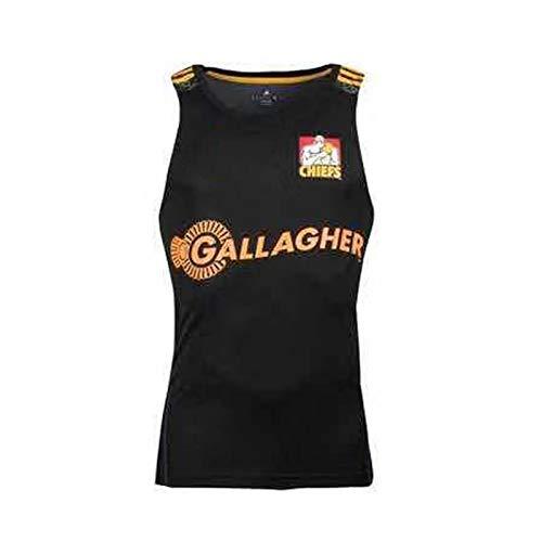 Camisa Rugby, 2019 Chiefs Casa Fuera Camiseta De Rugby, Jersey De Rugby Deporte Top, Manga Corta De Rugby Uniforme, Football Partido De Entrenamiento Polo S-3XL Vest-L