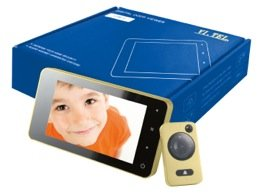 'Digital Mirilla–4,3TFT y cámara mitfoto & Vídeo, latón/Oro