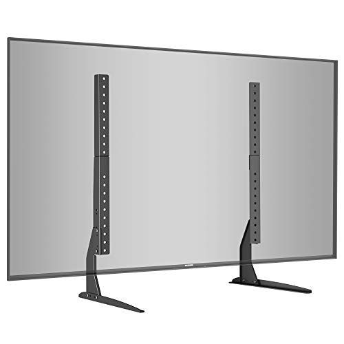 BONTEC Patas TV, Soporte TV de Pie Universal para Television LCD LED Plasma Plano 22-65 Pulgadas, Peanas para TV Carga Máx. 50 kg - VESA Máx. 800x400mm