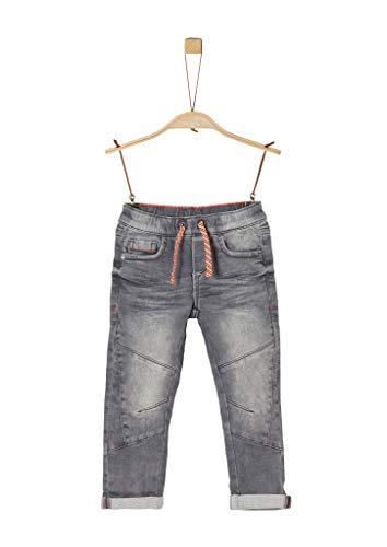 s.Oliver 404.10.004.26.180.2021286 Jeans, Jungen, Grau 98 REG