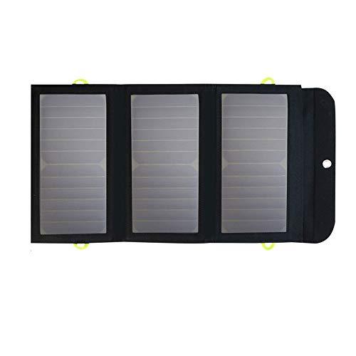GNY Caricatore Solare Pannello Solare all aperto Portatile 5V 21W Incorporato da Incasso 10000mAh Power Power Bank Camping Celle solari Pieghevoli Caricabatterie USB