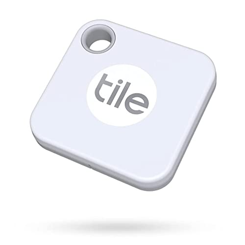 Tile Mate (2020) 1-pack - Bluetooth Tracker, Keys Finder and Item Locator for Keys, Bags and More;...