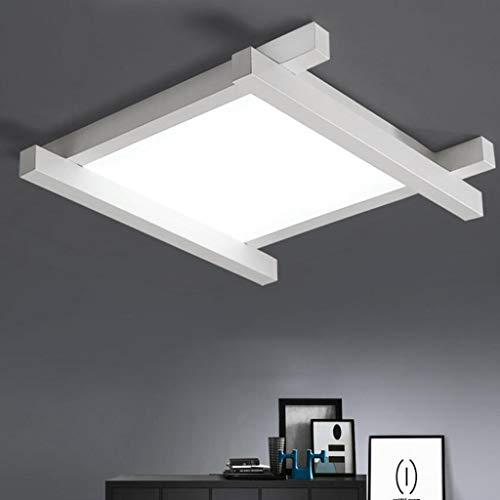 Plafondlamp voor familie, modern, minimalistisch, LED, kunst, geometrisch acryl, drie kleuren, creatief, voor slaapkamer, woonkamer, studio, restaurant, decoratieve verlichting, JTD 44 * 44 * 10cm LED 24W