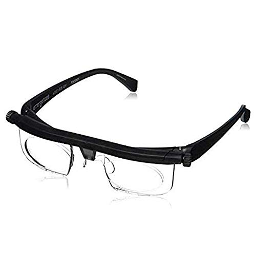 Adjustable Focus Glasses Dial Vision Near and Far Sight