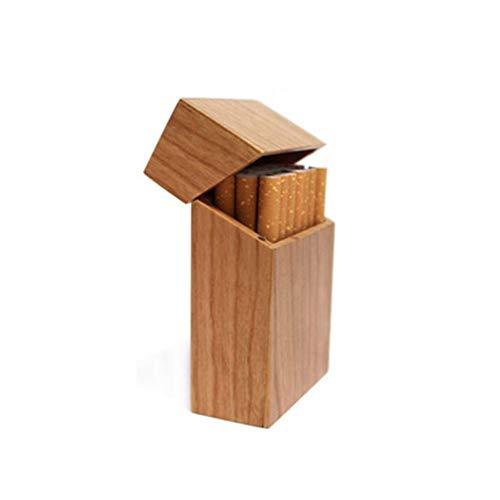 Clamshell Portable doos van de sigaret sigaret sigaret Houten magnetische adsorptie,2