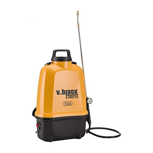 Pompa a spalla elettrica V.Black E-Pro 16 L Volpi Batteria al litio