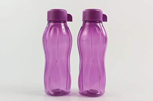 Tupperware to Go Eco 310 ml Flieder C136 Wasser Saft Trinkflasche (2) 35176