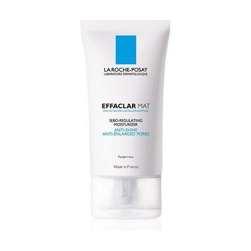 La Roche-Posay Effaclar loción hidratante sebo-reguladora, 40ml antibrillo, cierra los poros Cierra los poros y reduce el flujo del sebo. Mantiene la piel mate. -