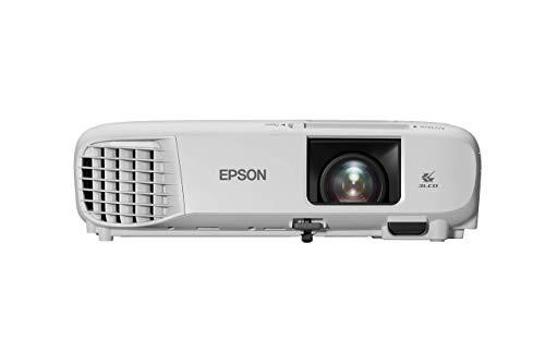 Epson EB-FH06 3LCD-Projektor (Full HD 1.920x1.080p, 3.500 Lumen Weiß- und Farbhelligkeit, Kontrastverhältnis 16.000:1, optionales WLAN, HDMI)