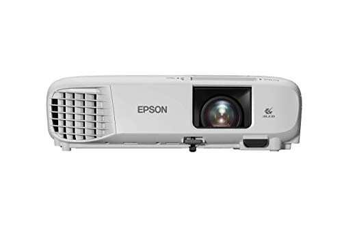 Epson EB-FH06 3LCD, Full HD 1080p, 3500 Lumens, 332 Inch Display, Up to 18 years Lamp Life, Home Cinema Projector - White