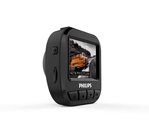 Philips 56749XM GoSure Full-HD Dashcam ADR620 Cámara para Coche