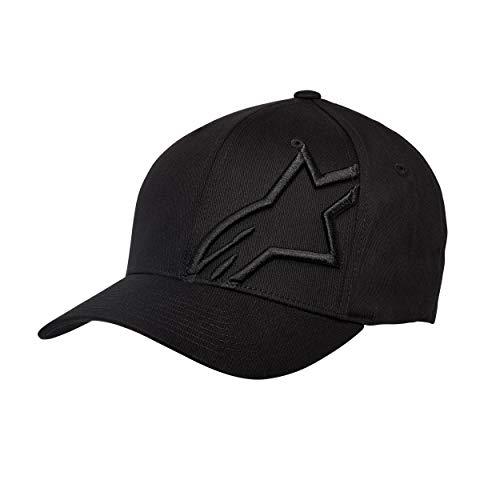 Alpinestars - Casquette de Baseball Homme Corp Shift 2 Flexfit - Noir (Black) - Medium