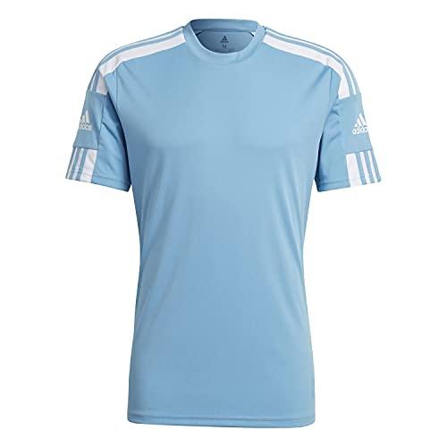 Adidas Herren Squadra 21 Jersey SS T-Shirt, team light blue/white, 2XL