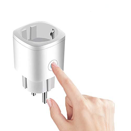Enchufe inteligente WiFi, Tuya Mini Wifi Outlet funciona con Alexa, Google Home, Tuya Voice/Remote Control Smart Outlet con función de temporizador, no requiere concentrador (1 / 4Packs)
