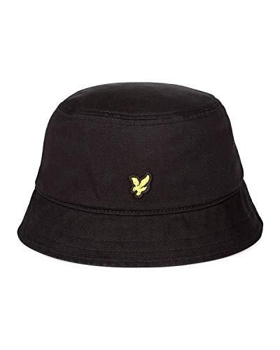 Lyle & Scott Washed Bucket Hat True Black-One Size
