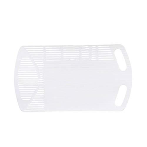 Tablas de Cortar Multifuncional plegable Drenaje herramienta de corte del tablero del rodillo de cocina cortina hogar de materiales plásticos Tabla de cortar Tabla de cortar Conjuntos de tablas para p