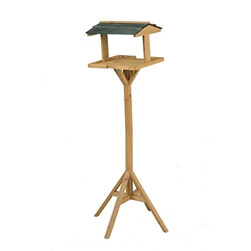 Mangeoire à oiseaux en forme de maison avec béquille Vogelfutter Boîte Distributeur Birdhouse 116 cm