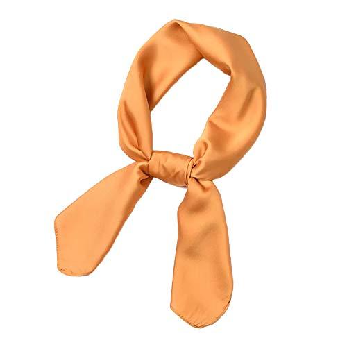 HIDOUYAL Grande Foulard Carré 100% Polyester Couleur Unie Multicolore 70 * 70cm